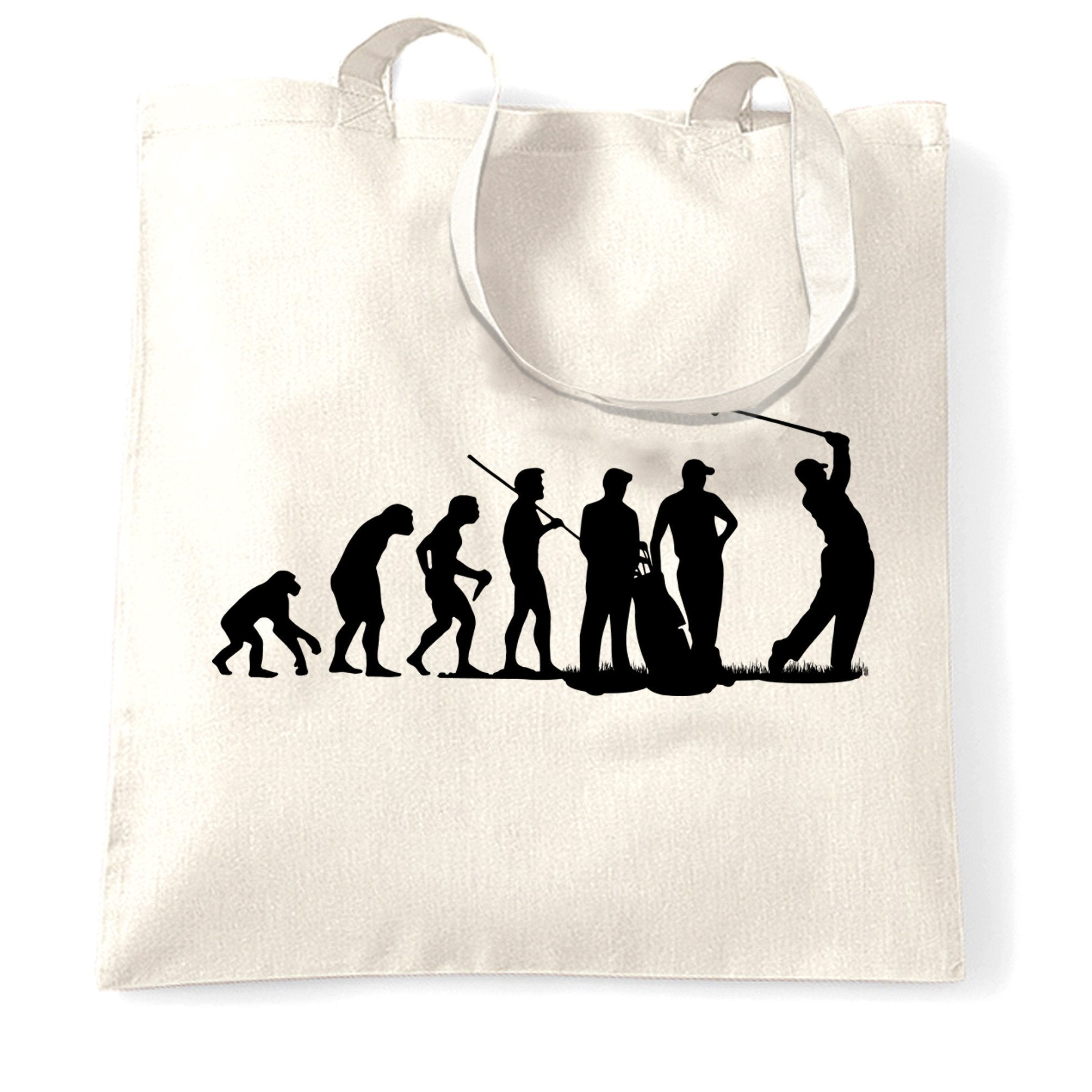 Sports Tote Bag The Evolution Of A Golfer