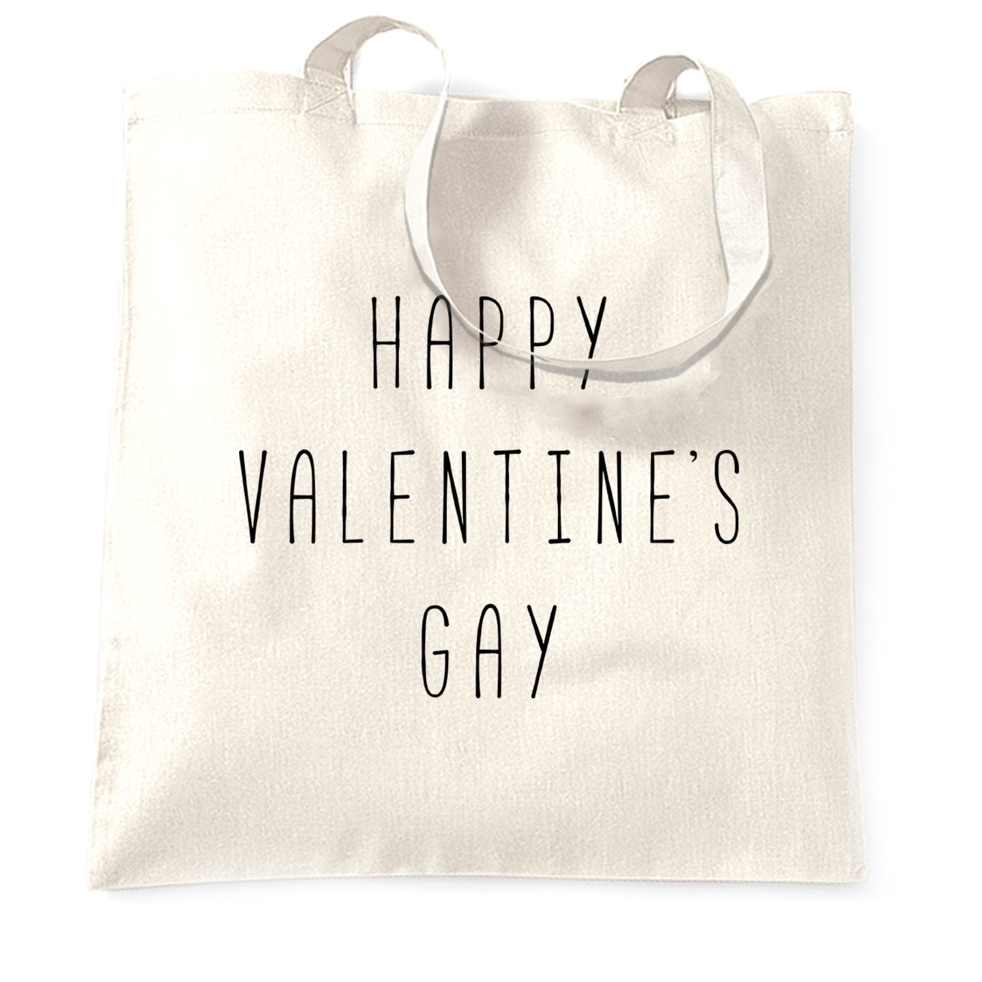 Relationship Tote Bag Happy Valentine's Gay Pun