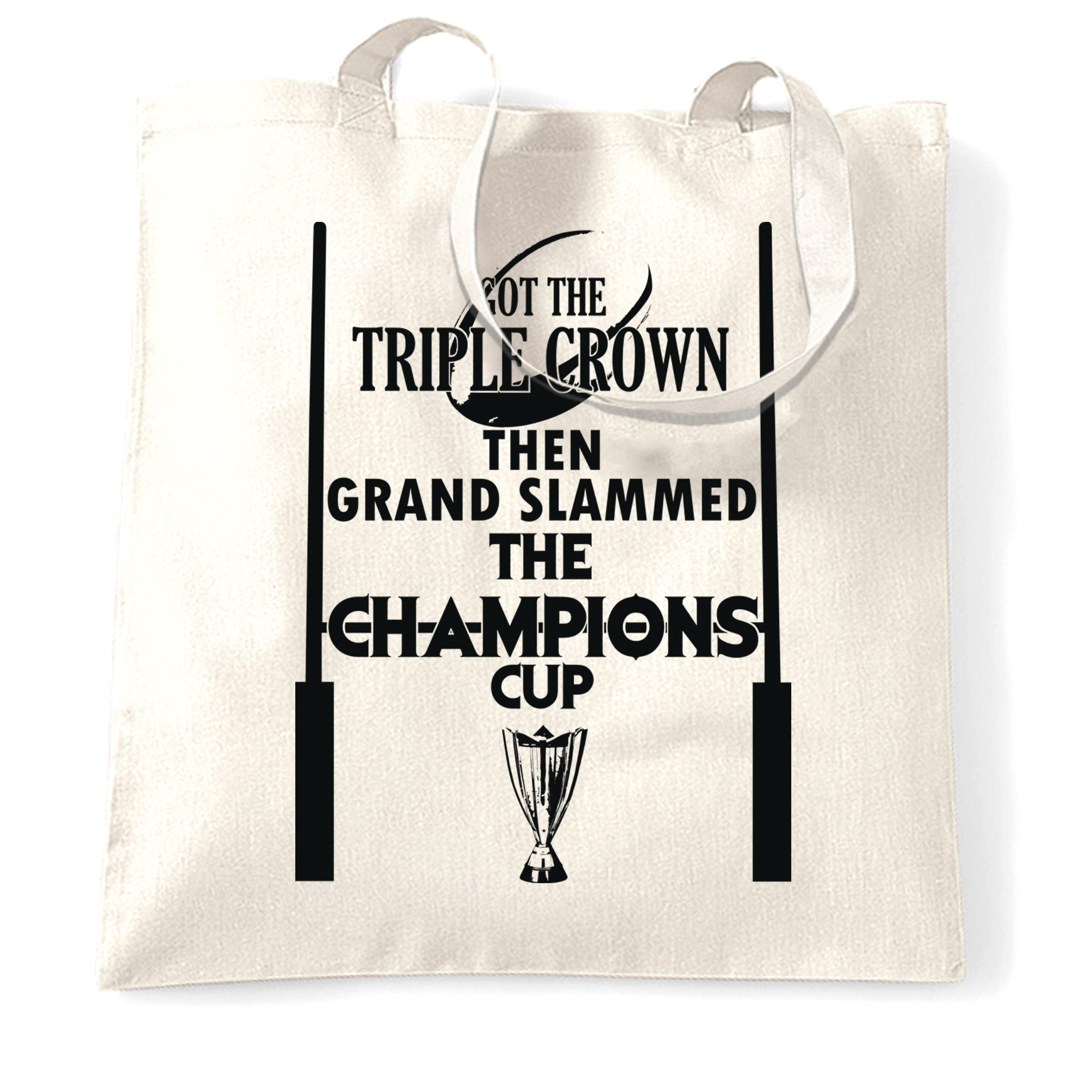 Triple Crown Tote Bag Then Grand Slammed Champions Cup