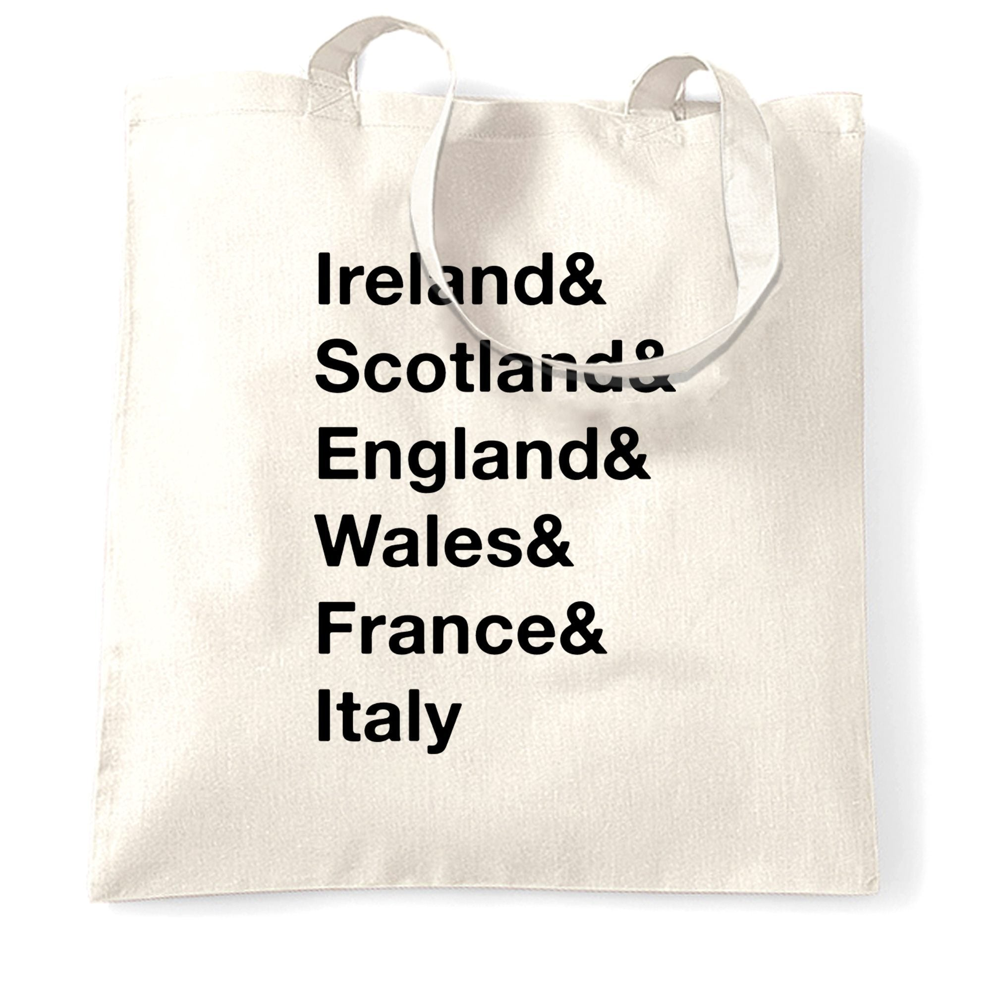 The Six Nations Tote Bag Ireland, Scotland, England