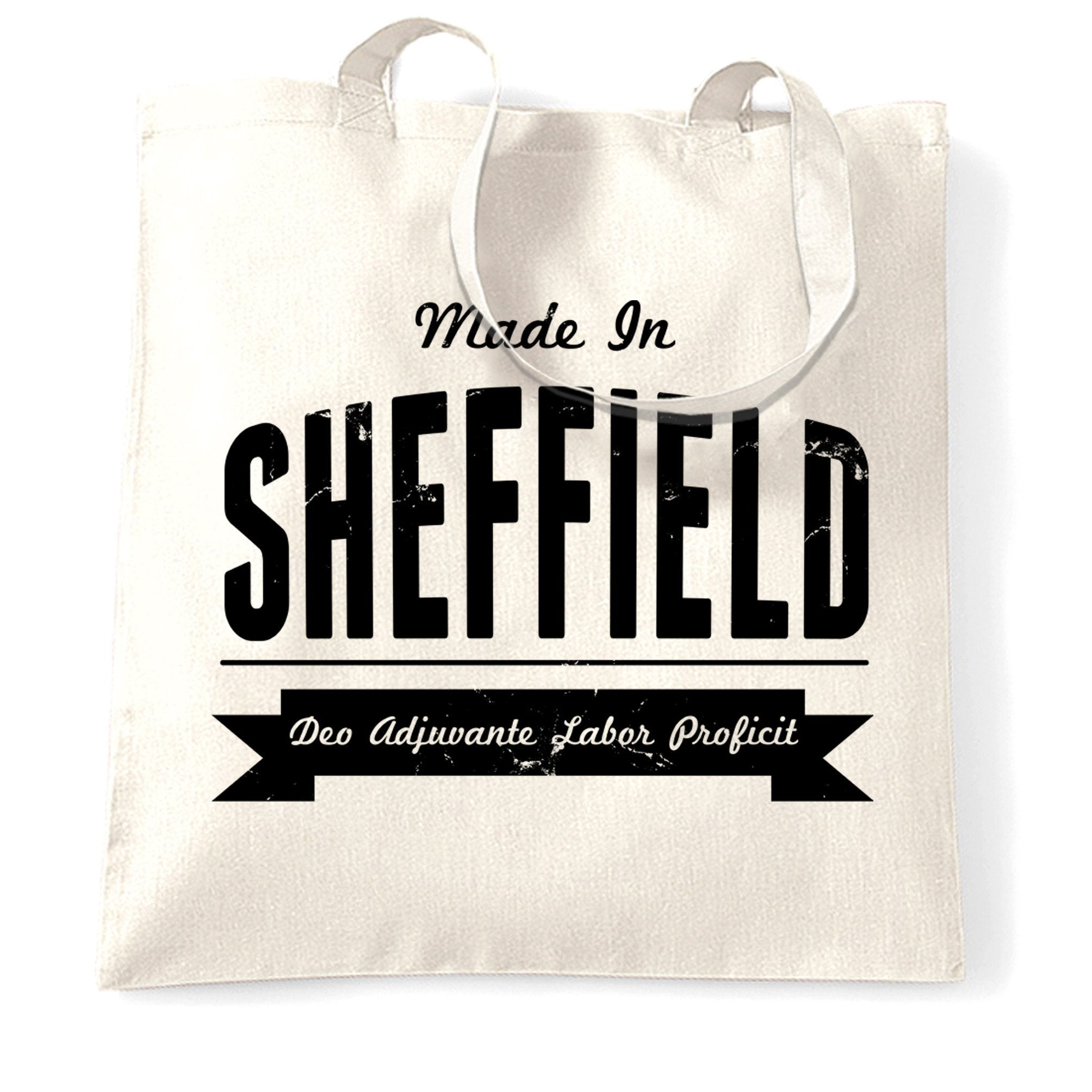 Hometown Pride Tote Bag Made in Sheffield Banner