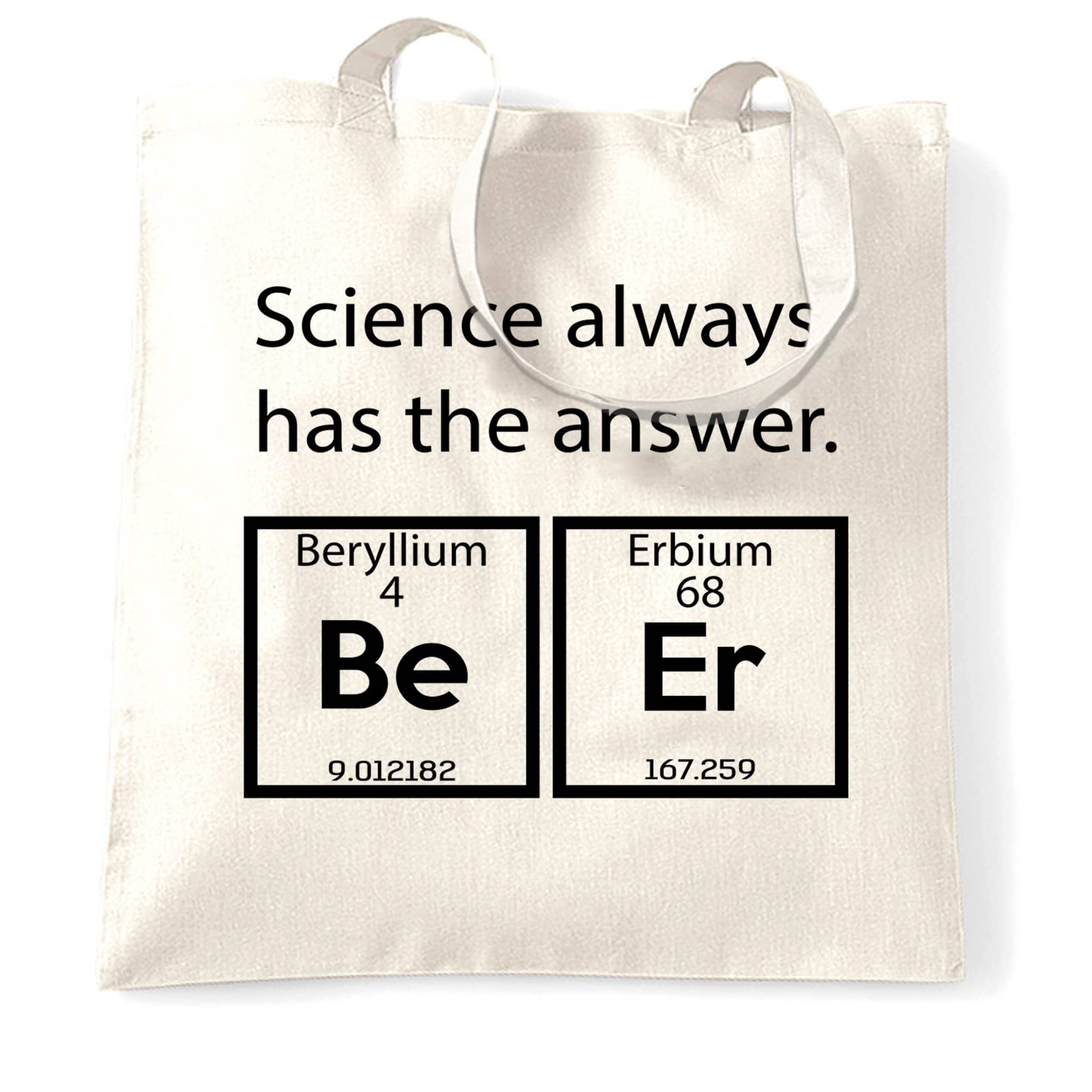 Drinking Tote Bag Science Has The Answer Beer
