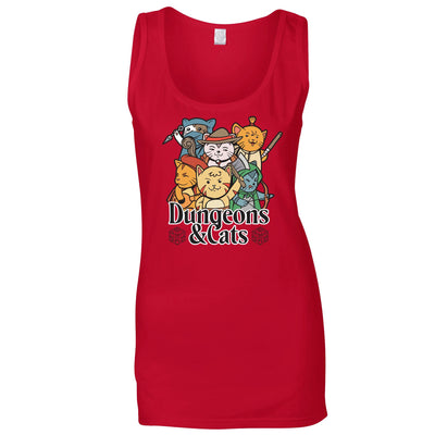 Dungeons and Cats Ladies Vest