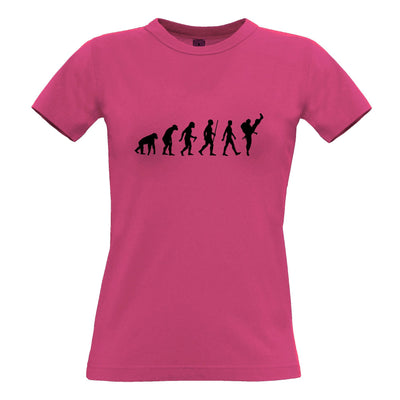Martial Arts Womens T Shirt The Evolution Of Karate