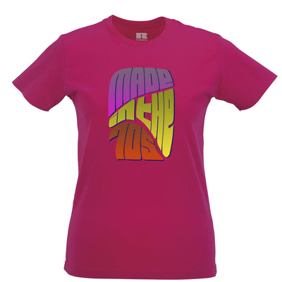 Retro Birthday Womens Tee Made In The 70s