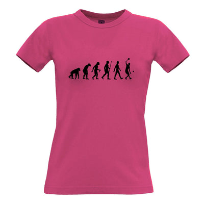 Sports Womens TShirt Evolution Of A Tennis Player