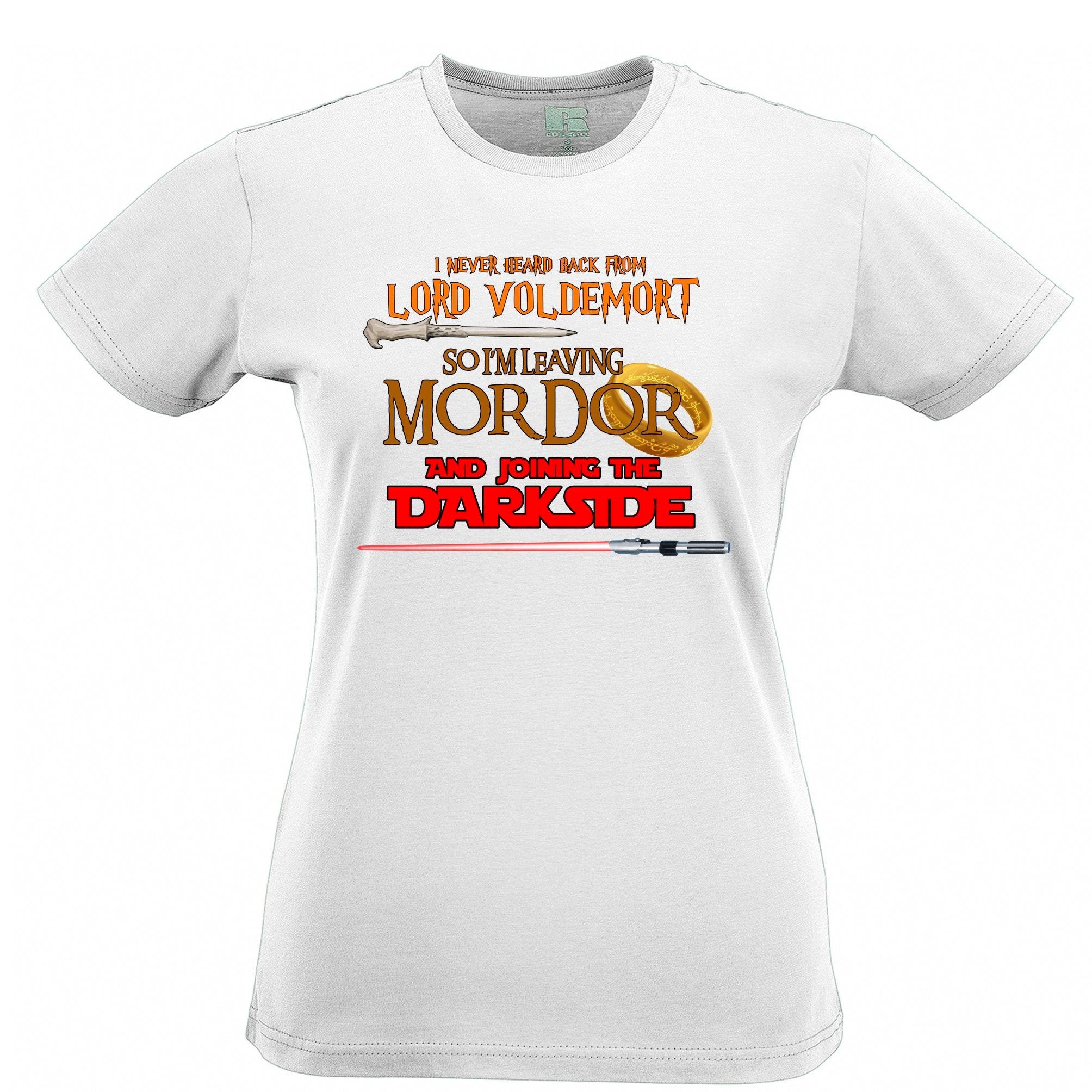 Voldemort, Mordor, Dark Side Womens T Shirt Tee