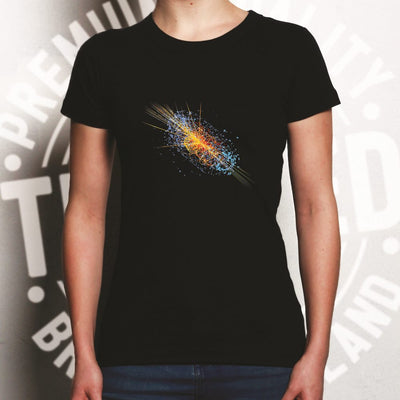 Particle Physics Womens T Shirt Higgs Boson Discovery Art