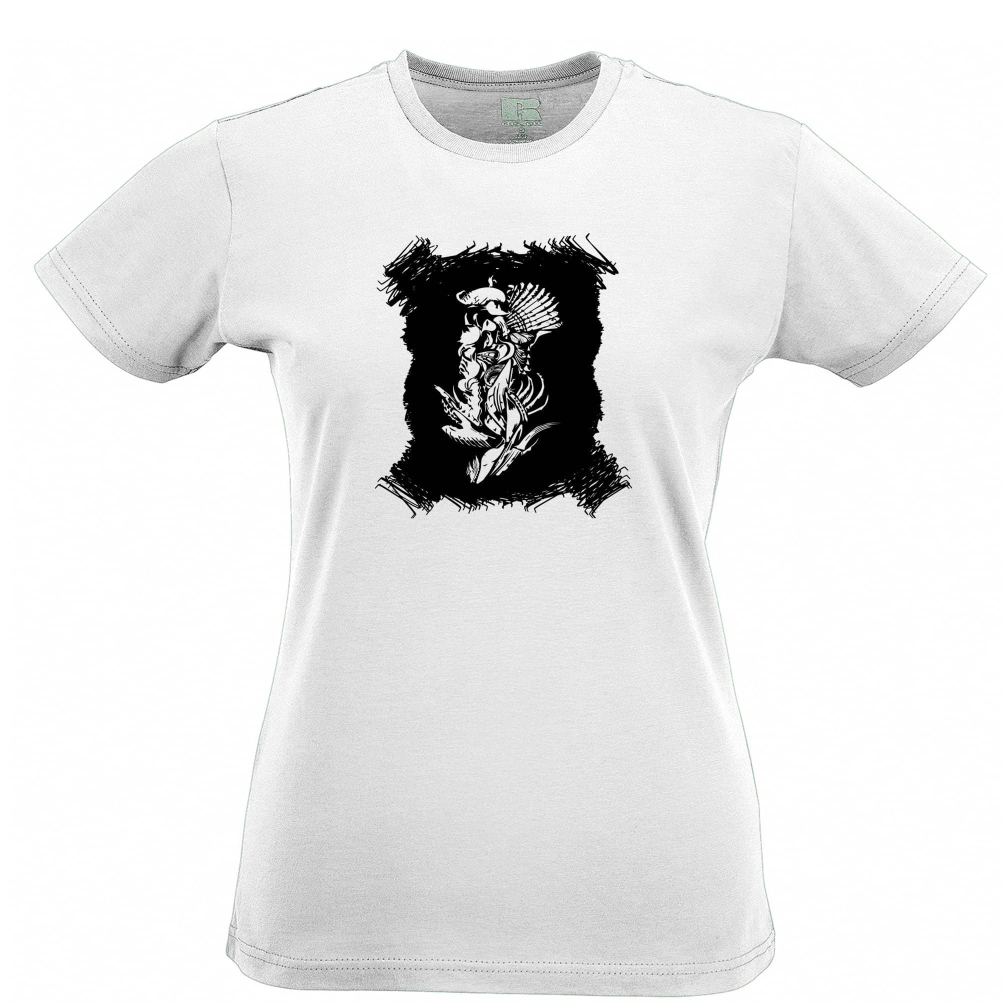 Abstract Tribal Art Womens T Shirt Native American Indian