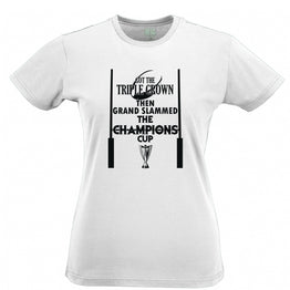 Triple Crown Womens Tee Then Grand Slammed Champions Cup