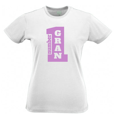 Mother's Day Womens Tee Number One Grandma