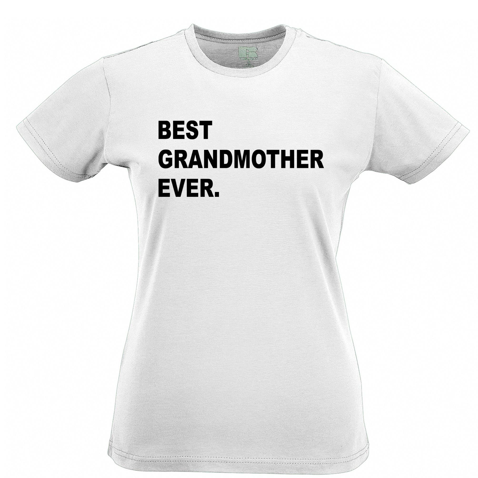 Best Grandmother Ever Womens TShirt Parent Family Slogan