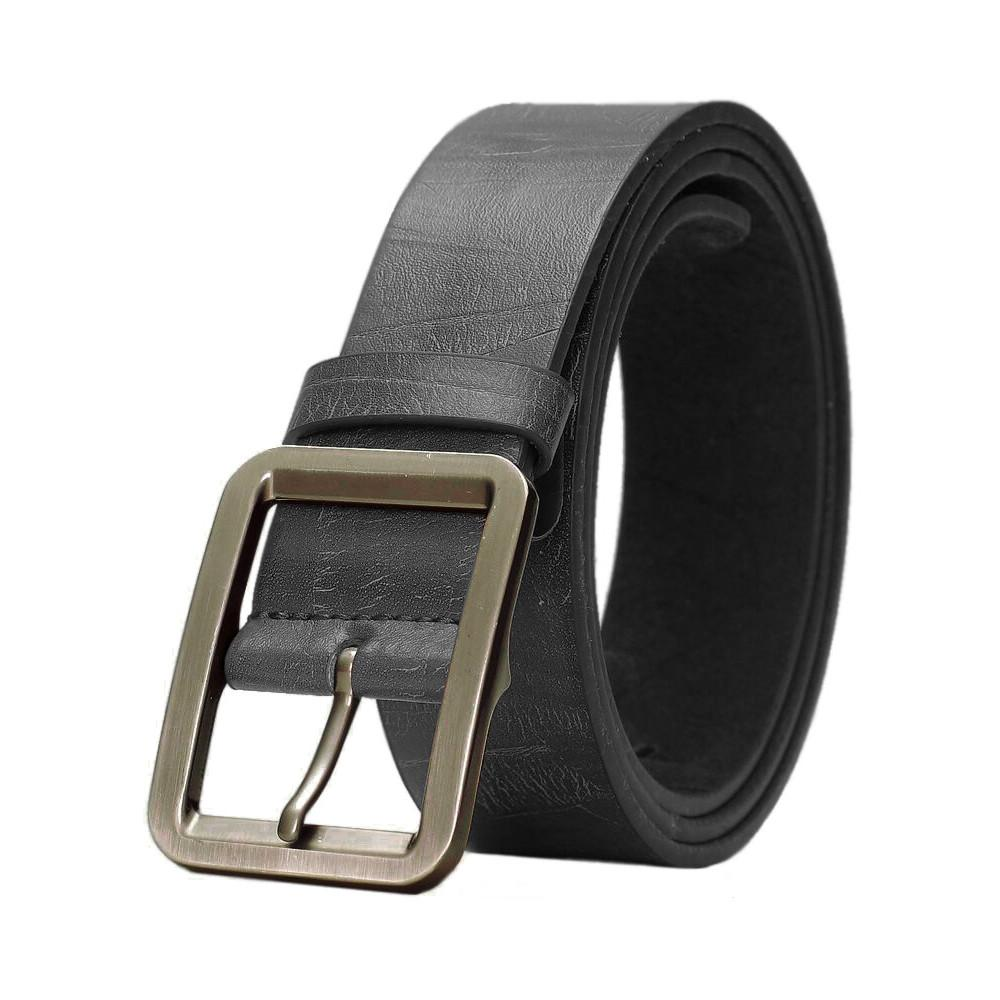 """Mens Vegan Vegetarian Friendly Faux Leather Belt (From 30"""" to 46"""")"""