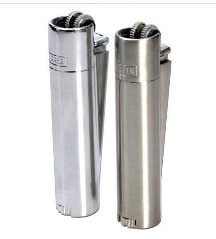 Clipper silver metal