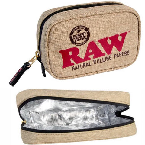 RAW SMELL PROOF SMOKERS POUCH(small)