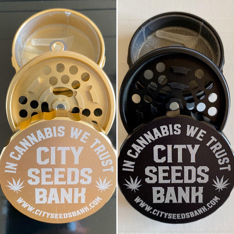 GRINDER A CALAMITA CITY SEEDS BANK