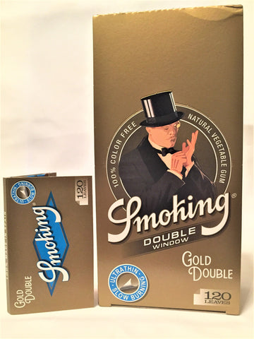 Cartine Smoking gold double 25 pacchetti