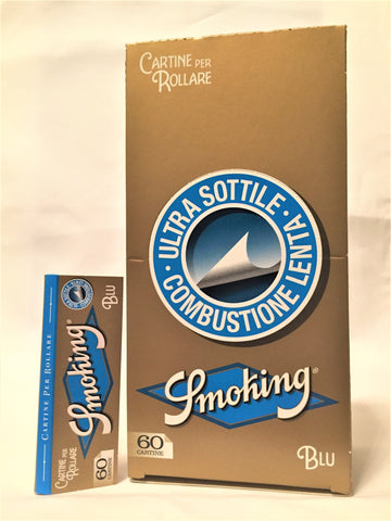 Cartine Smoking blu corte 50 blocchetti