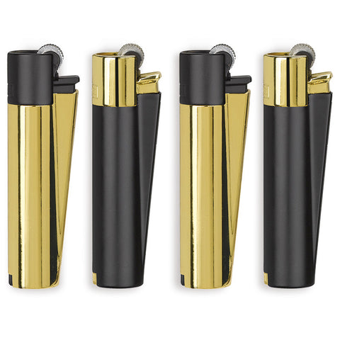 CLIPPER LARGE METAL BLACK&GOLD
