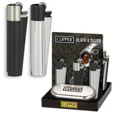 CLIPPER LARGE METAL BLACK&SILVER