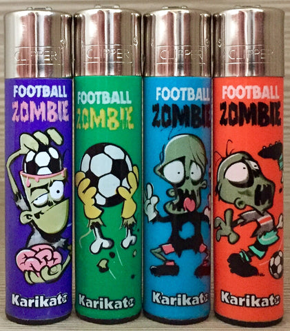 CLIPPER FOOTBALL ZOMBIE KARIKATO