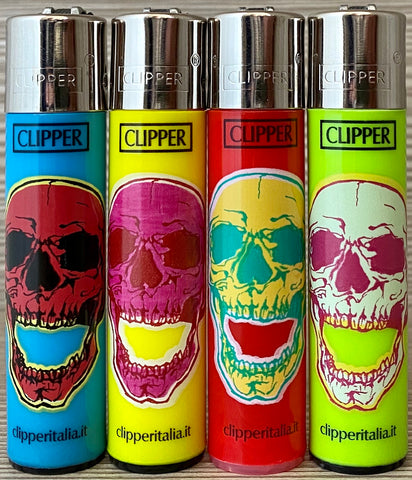 CLIPPER SKULLS FLUO