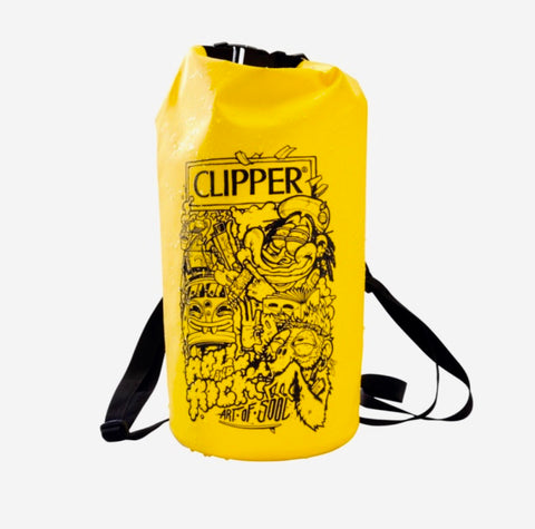 CLIPPER BORSA IMPERMEABILE GIALLA ART OF SOUL