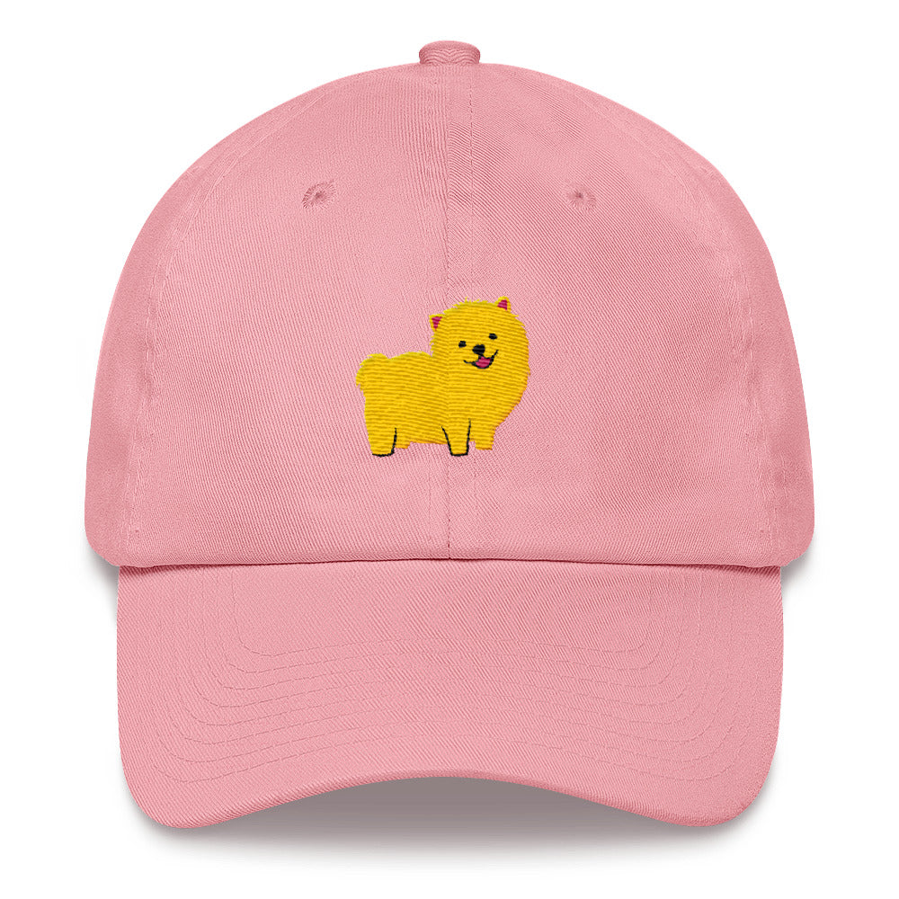 b98ef28d ... Pomeranian Classic Dad Cap, Cool Dog Men Hat, Women Hats, Dad Hats- ...