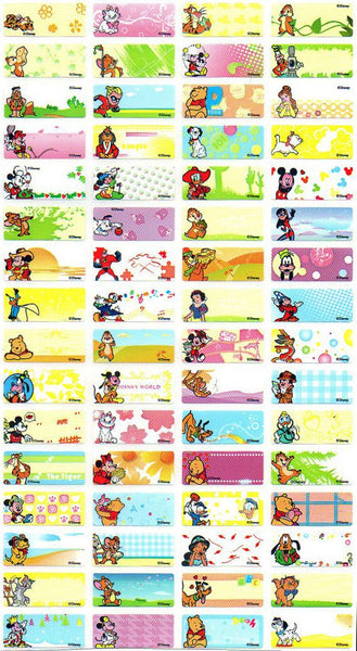Small Disney Name Stickers