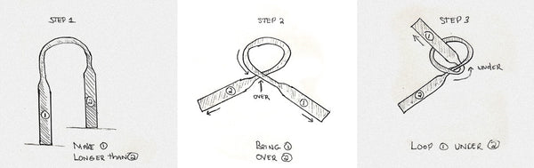 Tying a Batwing Bow Tie (or any other bow tie)