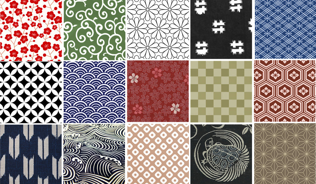 Japanese Patterns Designs Olaf Olsson