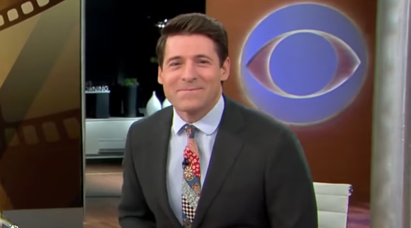 CBS Host Wears Olaf Olsson