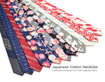 Neckties made from fabric from Japan by Olaf Olsson