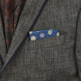 Indigo Dotto Pocket Square