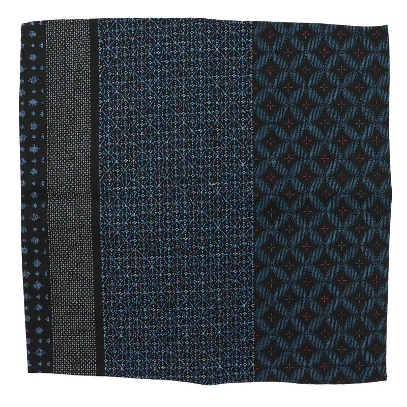 Indigo Shippou Pocket Square