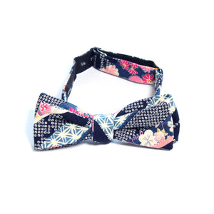 This handmade batwing bow tie by Olaf Olsson is made of Japanese cotton.