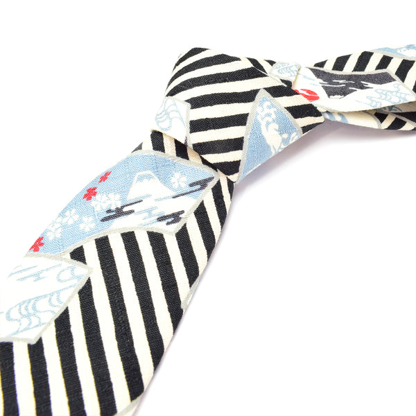 Fuji Stripes Necktie