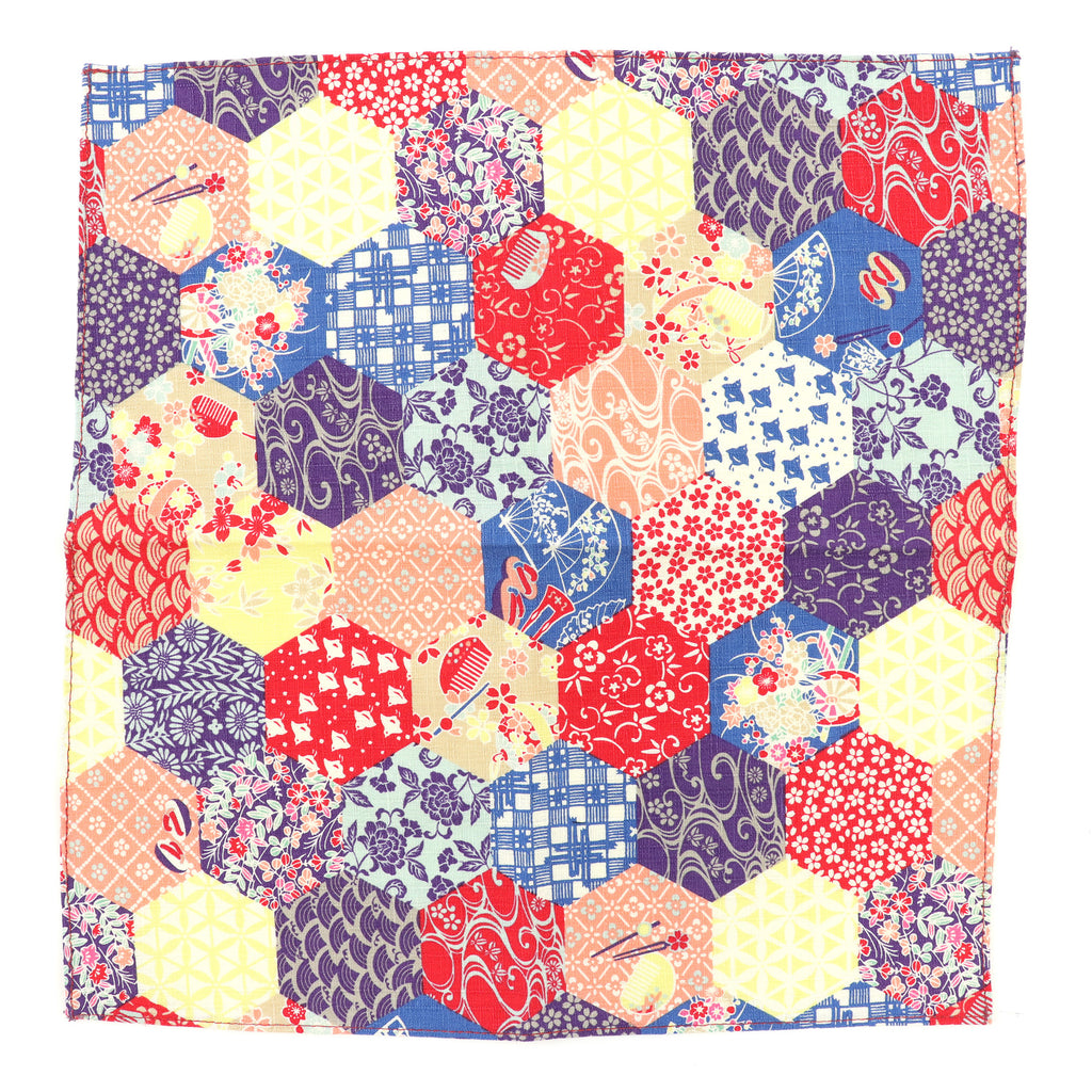 Rokkakkei Pocket Square