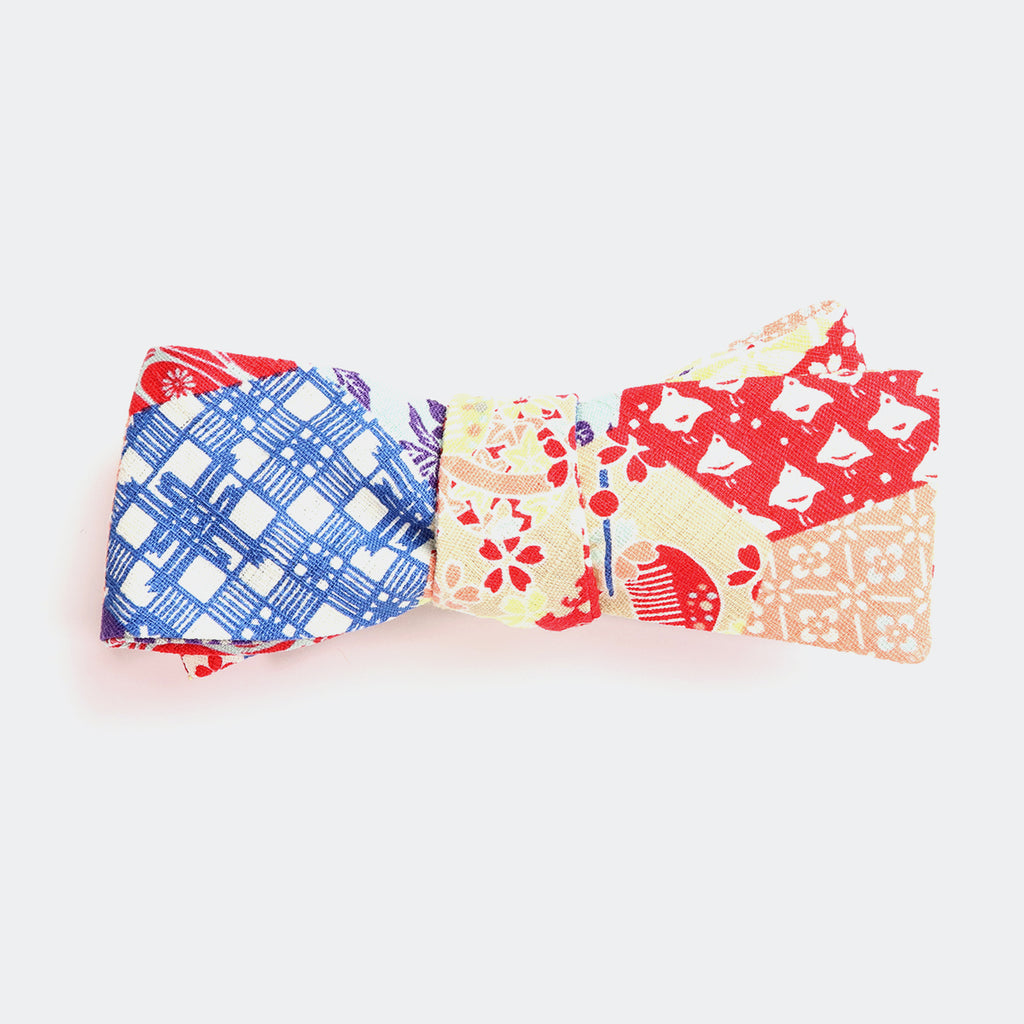 Hexagons Bow Tie