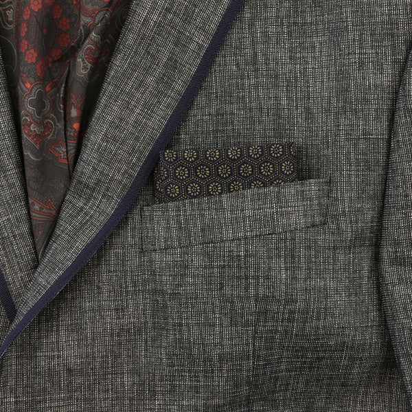 Indigo Kikkō Pocket Square