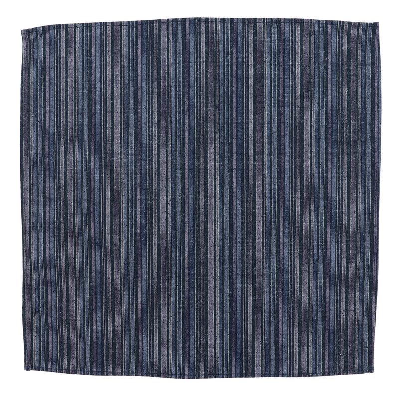 Aizu Blue Pocket Square