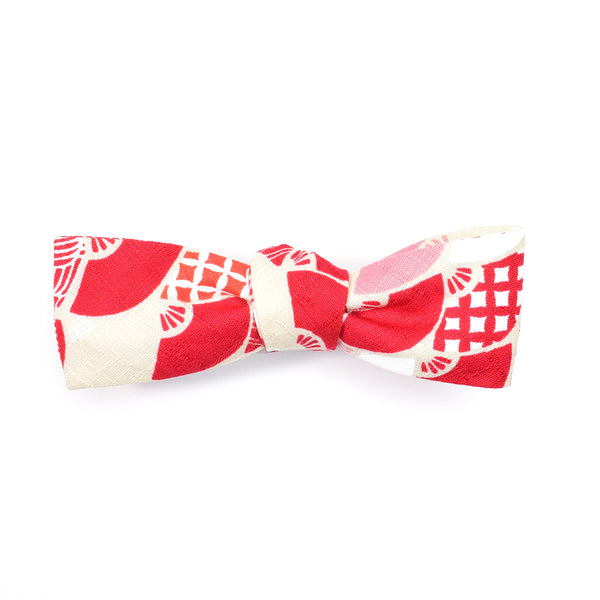 Red Sensu Batwing Bow Tie