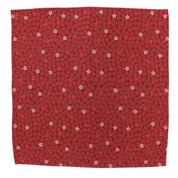 Sakura Red Pocket Square