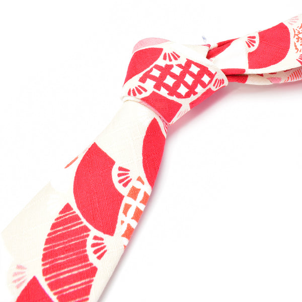 Red Sensu Necktie