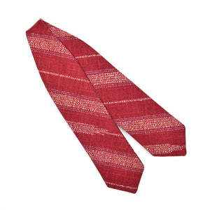 Red Yagasuri Diamond Point Bow Tie