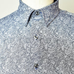 Steel Roses Yarn Dyed Jacquard Shirt