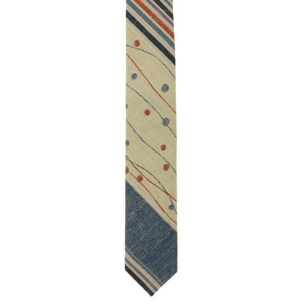 Stripes & Dots (Light) Necktie