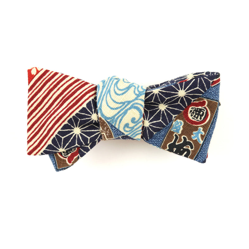Moyō Stripes Bow Tie