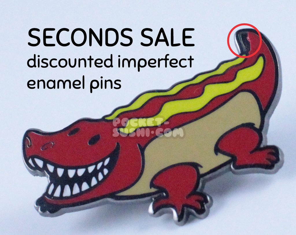 Seconds Sale - Discounted Imperfect Enamel Pins