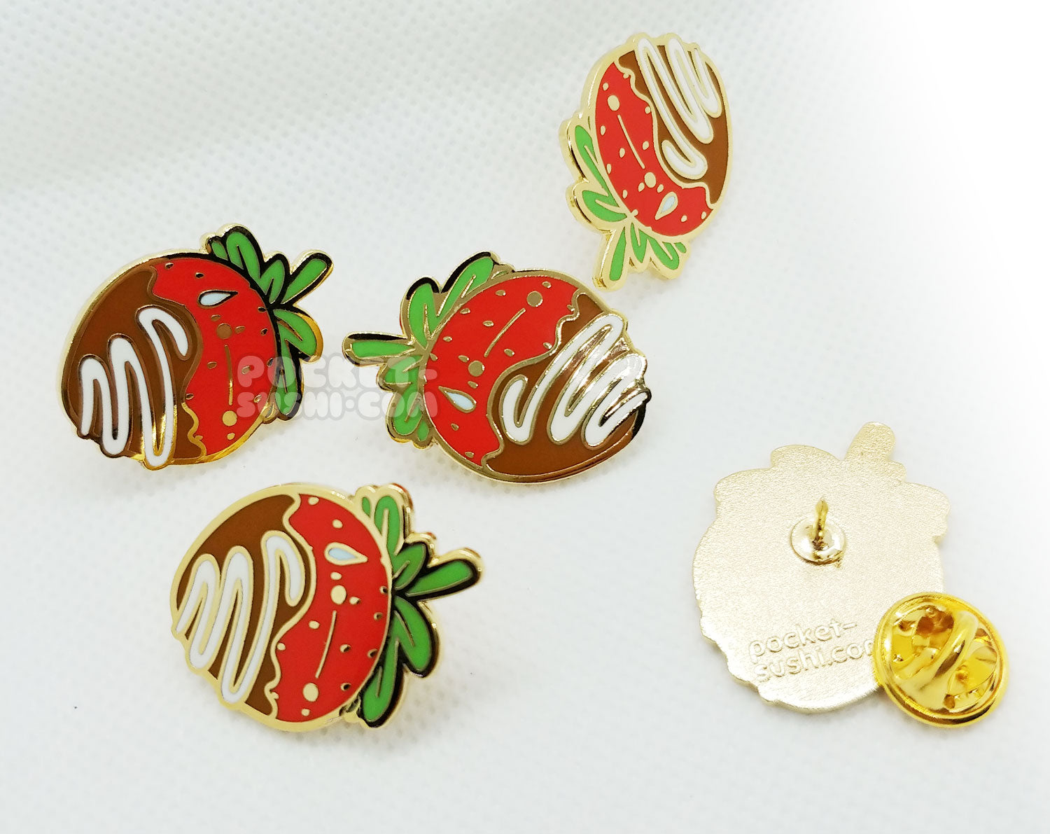 Sweatberry Enamel Pin